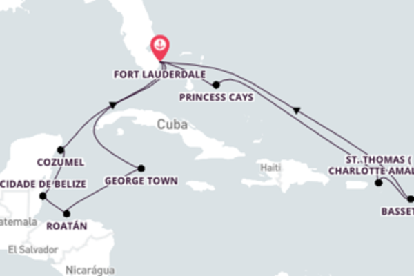 Radiante viagem de 15 dias até Fort Lauderdale