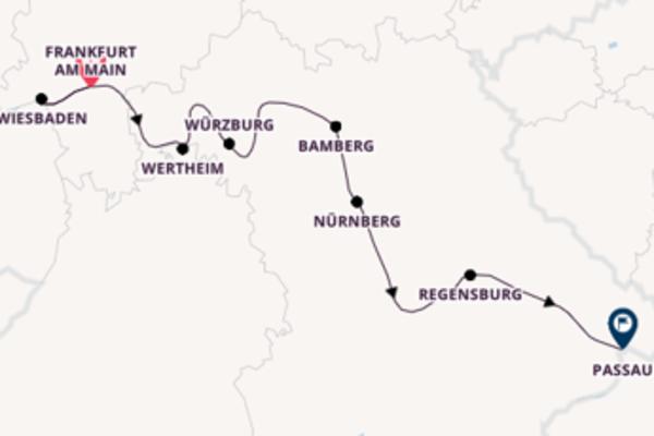 Atemberaubende Reise nach Passau