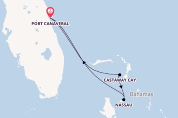 Dépaysante balade de 4 jours avec Disney Cruise Line