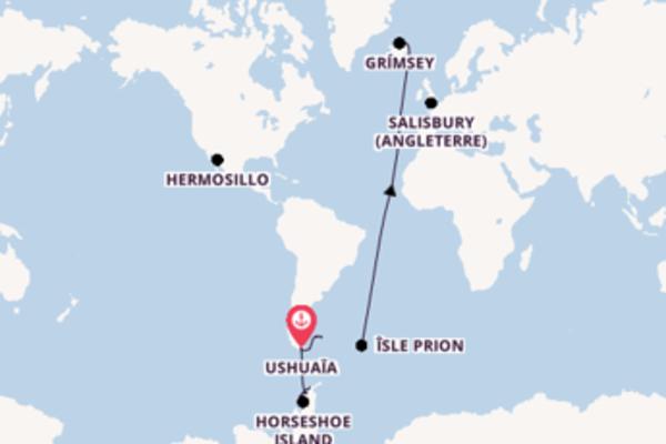 Agréable balade pour découvrir Port Stanley (Iles Malouines)