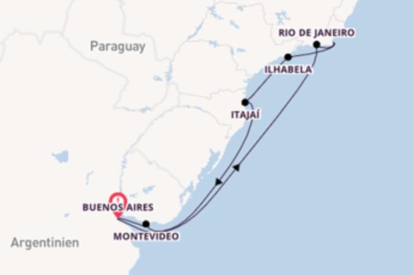 10 Tage Südamerika Reise
