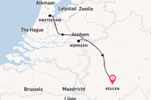 Cruise met Phoenix Cruises naar Amsterdam