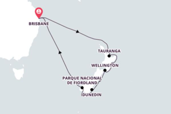 Mágica viagem de 15 dias até Brisbane