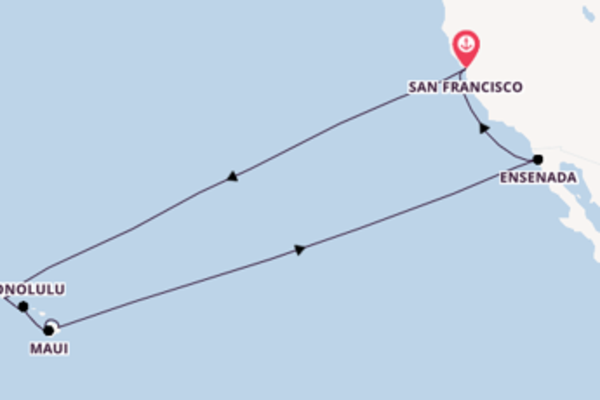 Trip with Princess Cruises from San Francisco