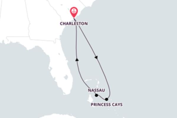 Ensolarada Bahamas com o Carnival Sunshine