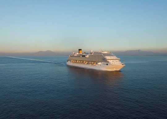 Una settimana mediterranea costa diadema costa crociere for Piano nave costa fascinosa