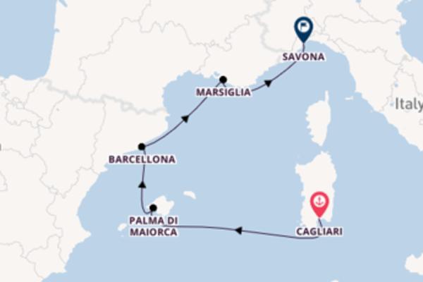 Lasciati conquistare da Palma di Maiorca partendo da Cagliari