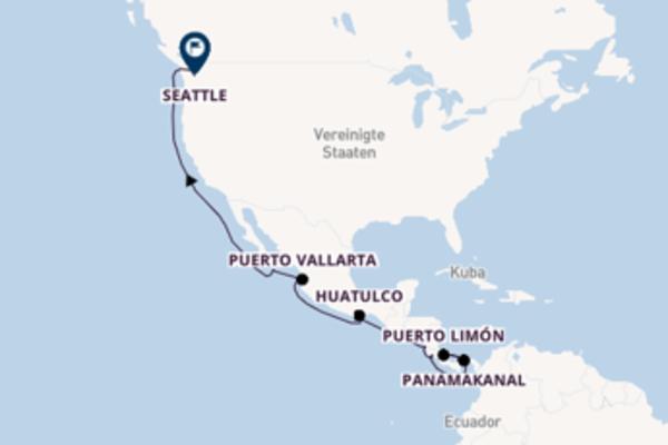Eindrucksvolle Reise nach Seattle