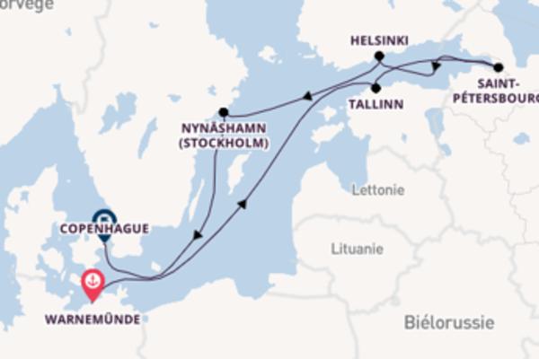 Croisière de 9 jours vers Copenhague avec Norwegian Cruise Line