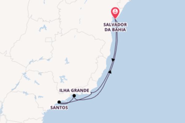 Ontdek Santos met MSC Cruises