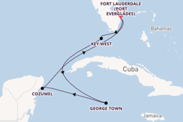 Expedition with Celebrity Cruises from Fort Lauderdale