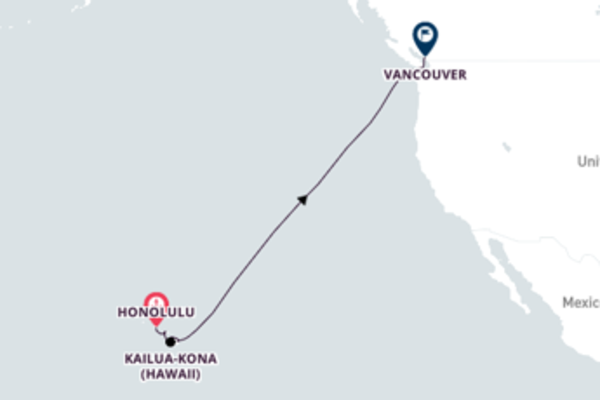 Cruising from Honolulu to Vancouver, BC with Celebrity Solstice