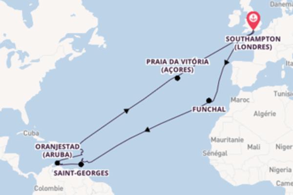 36 jours pour découvrir Kralendijk à bord du bateau Ventura