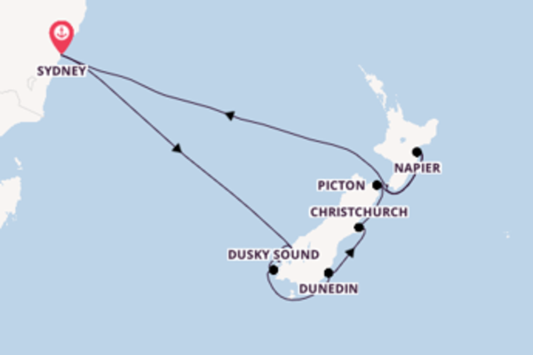 12 Tage Neuseeland Reise