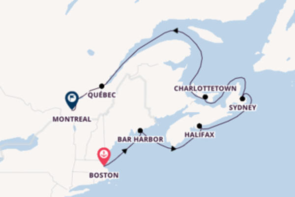 8-daagse reis aan boord van het ms Zaandam