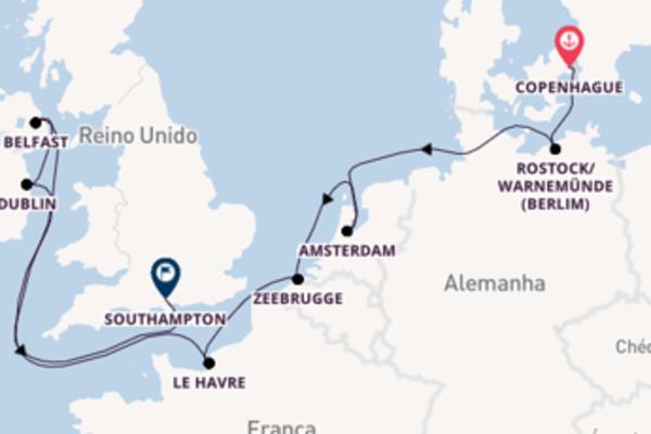 Belíssimo passeio com a Norwegian Cruise Line