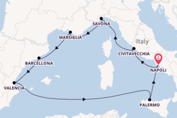 Lasciati affascinare da Barcellona e Napoli