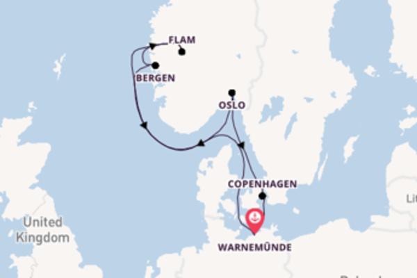 Salpando i mari da Warnemünde