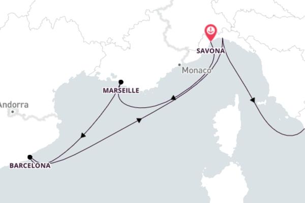 Sensational Genoa Cruise with Costa Victoria