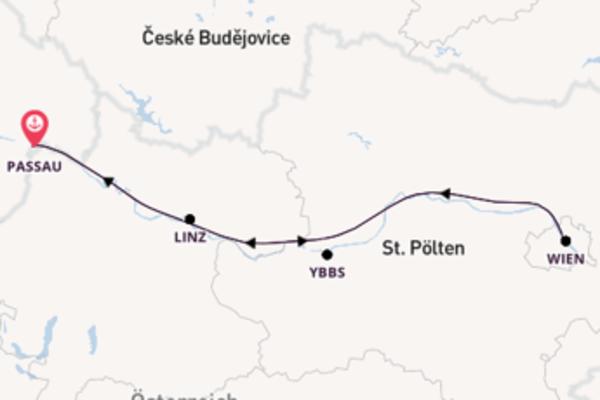 Donau Weihnachtsmärkte