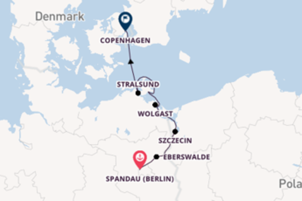 8 day cruise with the MS Victor Hugo to Copenhagen