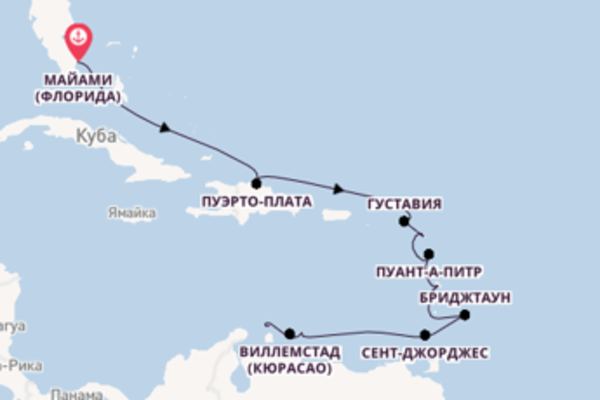 Восхитительное путешествие на 13 дней с Oceania Cruises