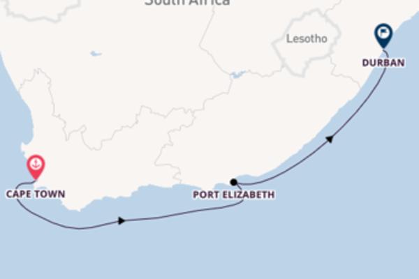 Glorious Cape Town to glorious Durban