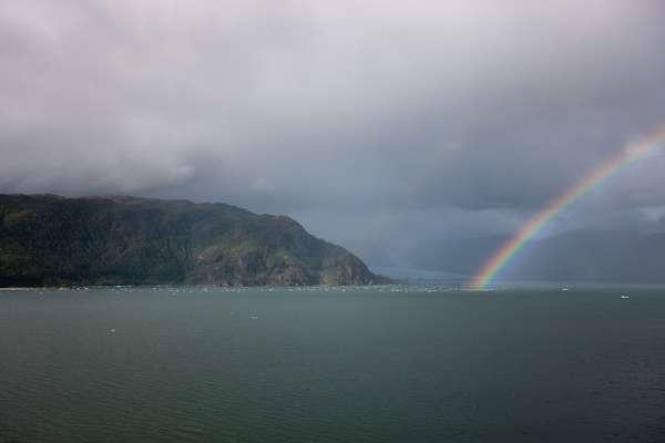 Geleira Amália, Chile