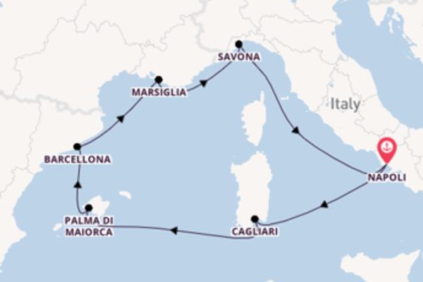 Lasciati affascinare da Cagliari partendo da Napoli