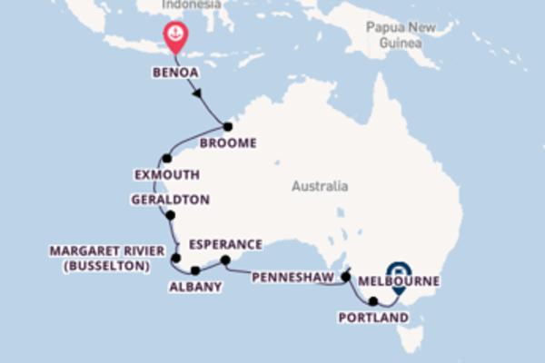 Cruise met Hapag-Lloyd Cruises naar Esperance, Australië