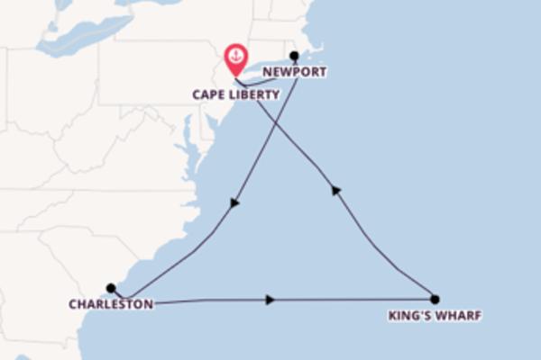Viaggio di 11 giorni a bordo di Celebrity Summit