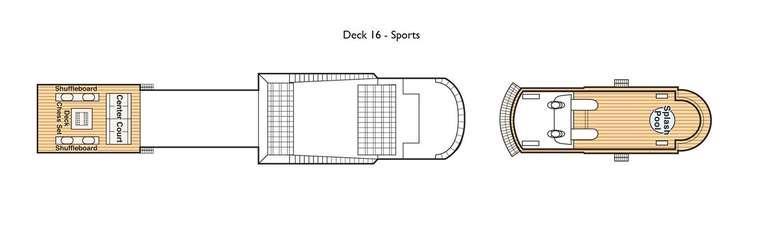 Island Princess Deck 16 Sports