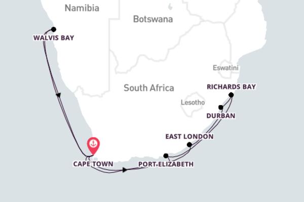 Mesmerizing Durban Excursion with Azamara Journey