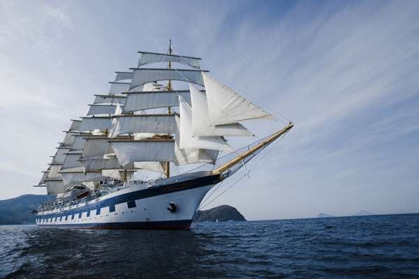Vaar met de Royal Clipper naar St. John's, Antigua, Antigua en Barbuda