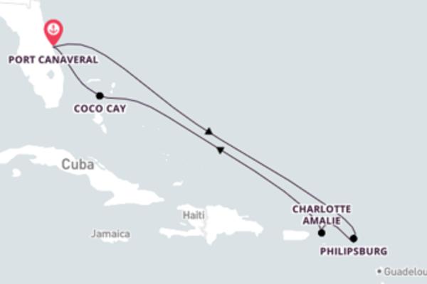 Divertente viaggio di 8 giorni verso Charlotte Amalie a bordo di Allure of the Seas