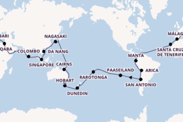 Cruise in 127 dagen naar Venetië met Costa Cruises