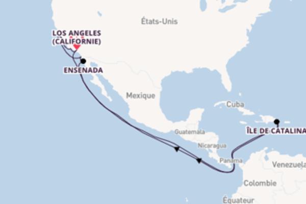 10 jours pour découvrir Île de Catalina à bord du beateau Regatta