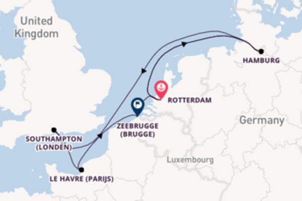 Ga mee op de AIDAsol naar Hamburg