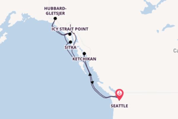 De pracht van het sprankelende Juneau