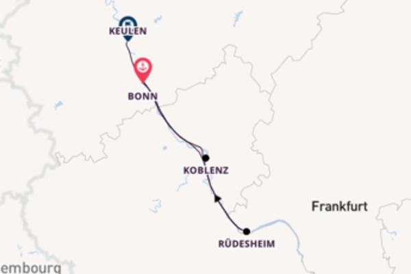 3-daagse cruise vanaf Bonn