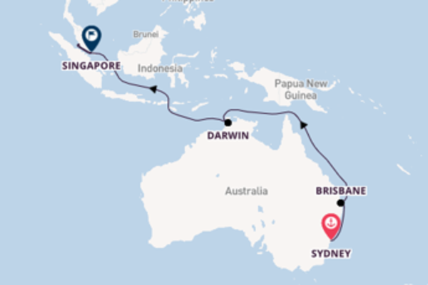 Cruise with Royal Caribbean from Sydney