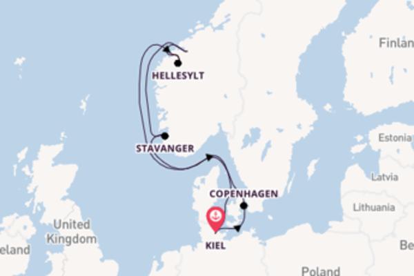 Fiabesca crociera da Kiel verso Åndalsnes