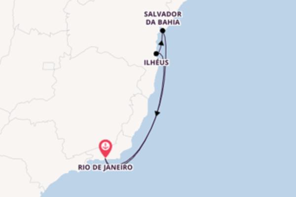 6 day cruise from Rio de Janeiro