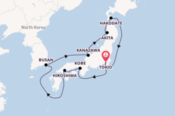 Cruise met Silversea naar Kobe