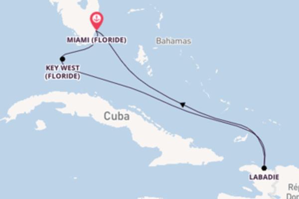 6 jours pour découvrir Key West (Floride) au départ de Miami (Floride)
