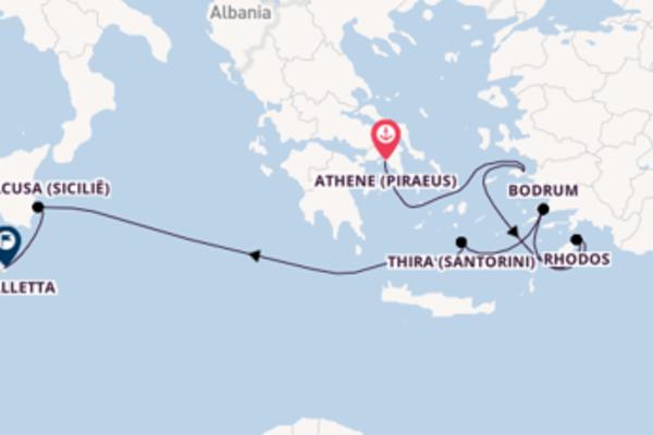 8-daagse cruise met de Seabourn Encore vanuit Athene (Piraeus)