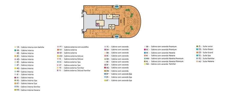 Carnival Vista Deck 15 Serenity