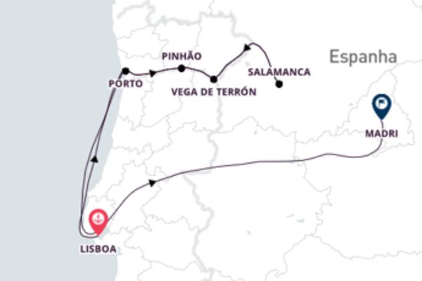 De Lisboa a Madrid com o Emerald Radiance