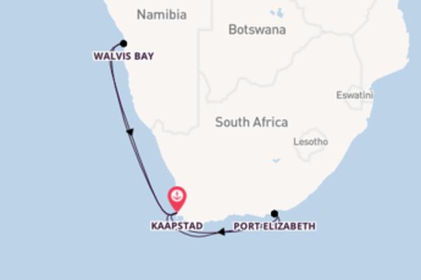 Ontdek het sprankelende Walvis Bay