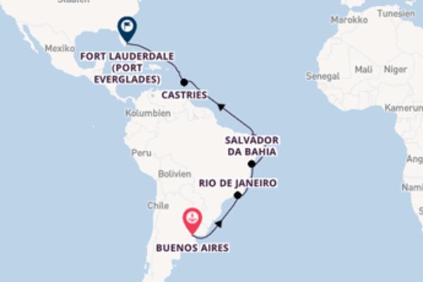 Entdecken Sie Fortaleza ab Buenos Aires